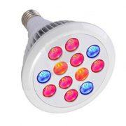 12W LED Grow Bulb